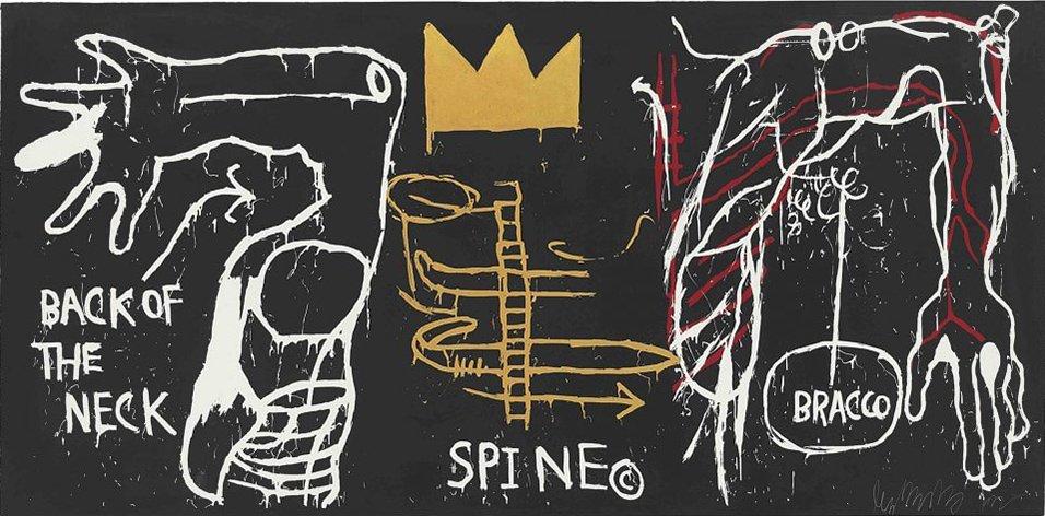 griot-mag-Basquiat- 1 | - Il genio- ribelle illumina -il Chiostro del Bramante-keith-haring