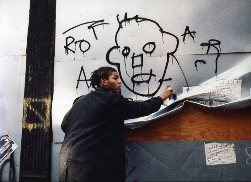 griot-mag-Basquiat- 1 | samo- Il genio- ribelle illumina -il Chiostro del Bramante-keith-haring
