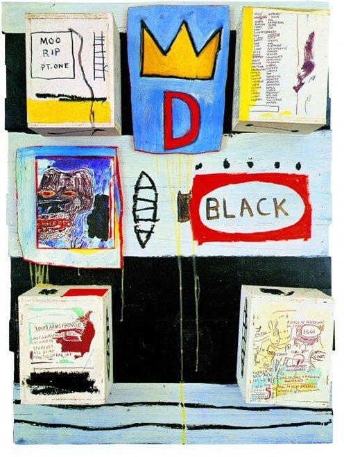 griot-mag-Basquiat- | Il genio ribelle illumina il Chiostro del Bramante