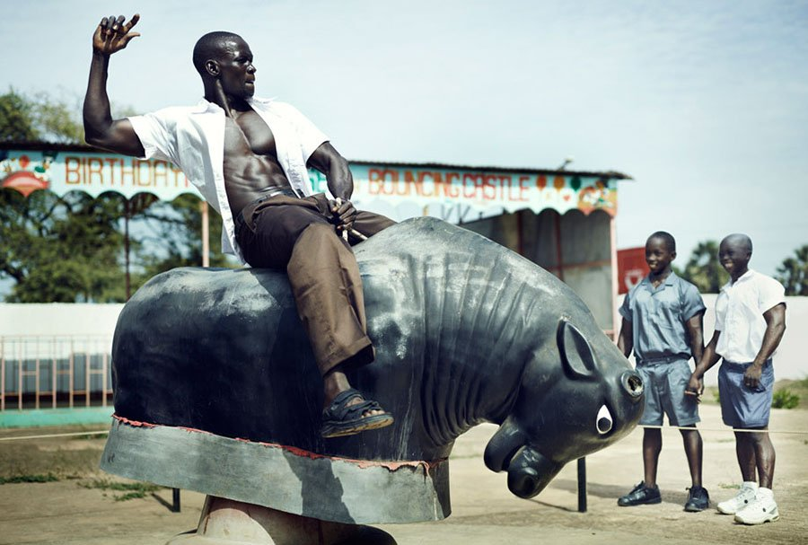 griot-mag-Bodybuilders world , Gambia-Kurt stallaert.7