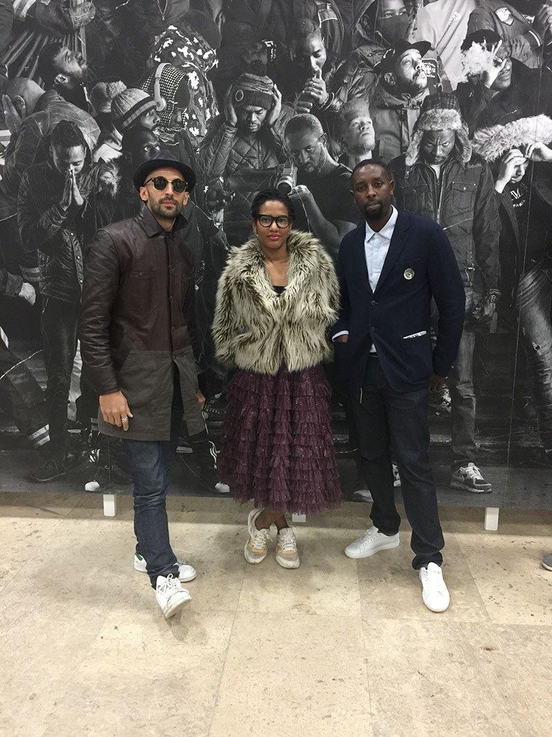 griot-mag-CHRONIQUES DE CLICHY - MONTFERMEIL- intervista - JR artista- parigi- Palais-de-Tokyo-JR, Janine Gaelle Dieudj, Ladj Ly