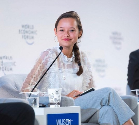 griot mag forum davos Melati Wijsen giovani attivisti