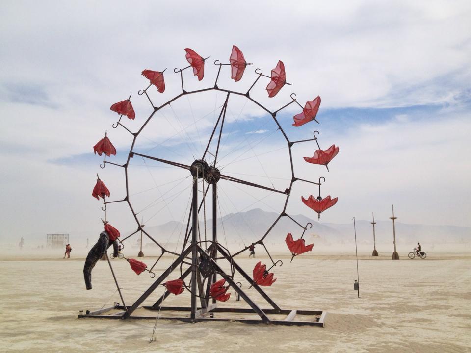 griot-mag-Game Changers | Harley Dubois - intervista- Burning Man - Ted- TedxRoma-Johanne-Affricot-art work