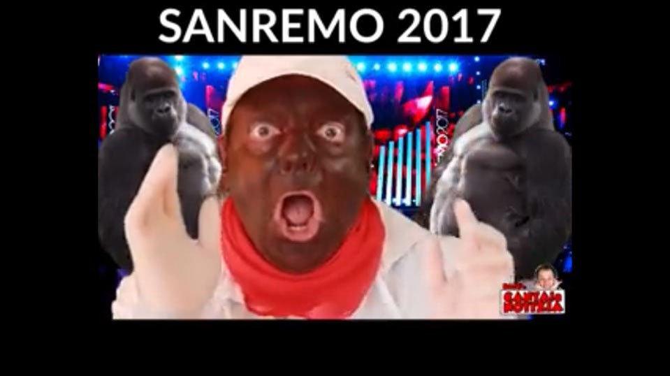 griot-mag-La faccia dipinta di nero del comico Dado la dice lunga sullo stato dei mass media italiani -occidentali-karma