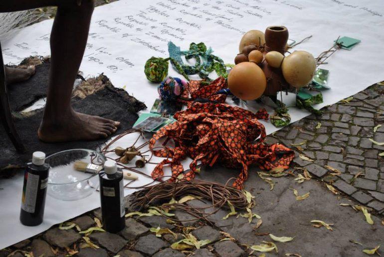 griot mag manifesta 12 biennale palermo Jelili Atiku