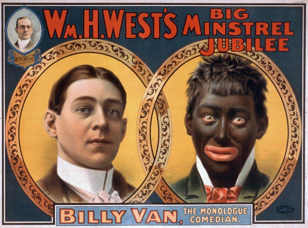 griot-mag-minstrel-show-black-face-La faccia dipinta di nero del comico Dado la dice lunga sulla società e mass media italiani-occidentali Karma-