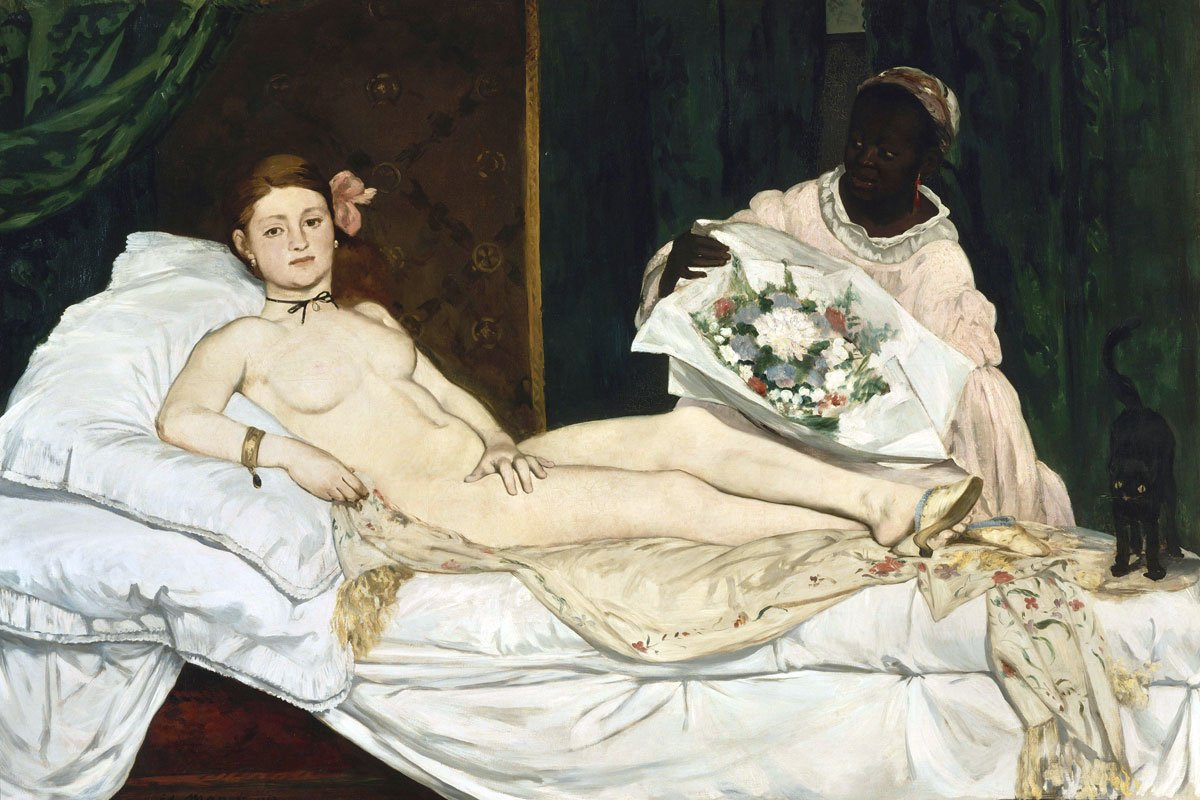 griot mag olympia manet mosra donne neri museo d'orsay parigi Le model noir