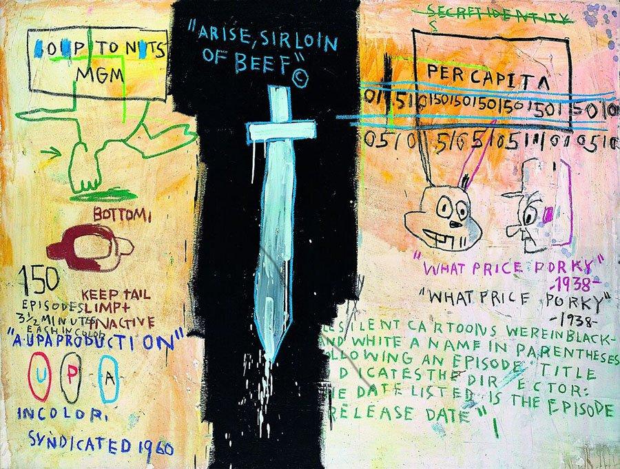 griot-mag-radiant-child-al-mudec-mostra-Basquiat-Job-Analisis-1983