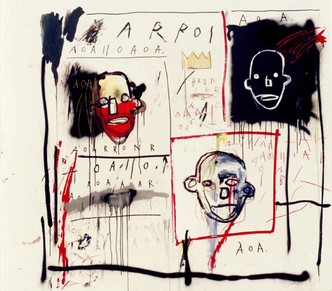 griot-mag-radiant-child-al-mudec-mostra-Basquiat-Senza-Titolo-1981