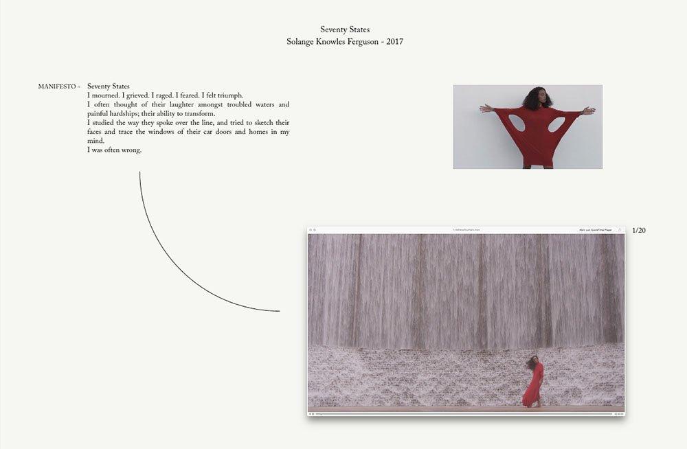 griot mag Seventy States | Seventy States | La performance di Solange apre alla Tate Modern
