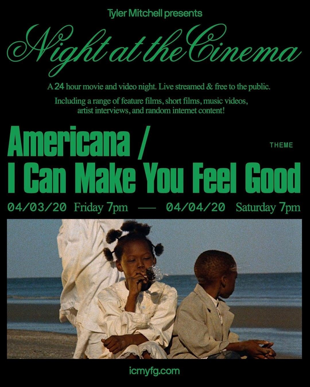 griot mag tyler mitchell night at cinema festival