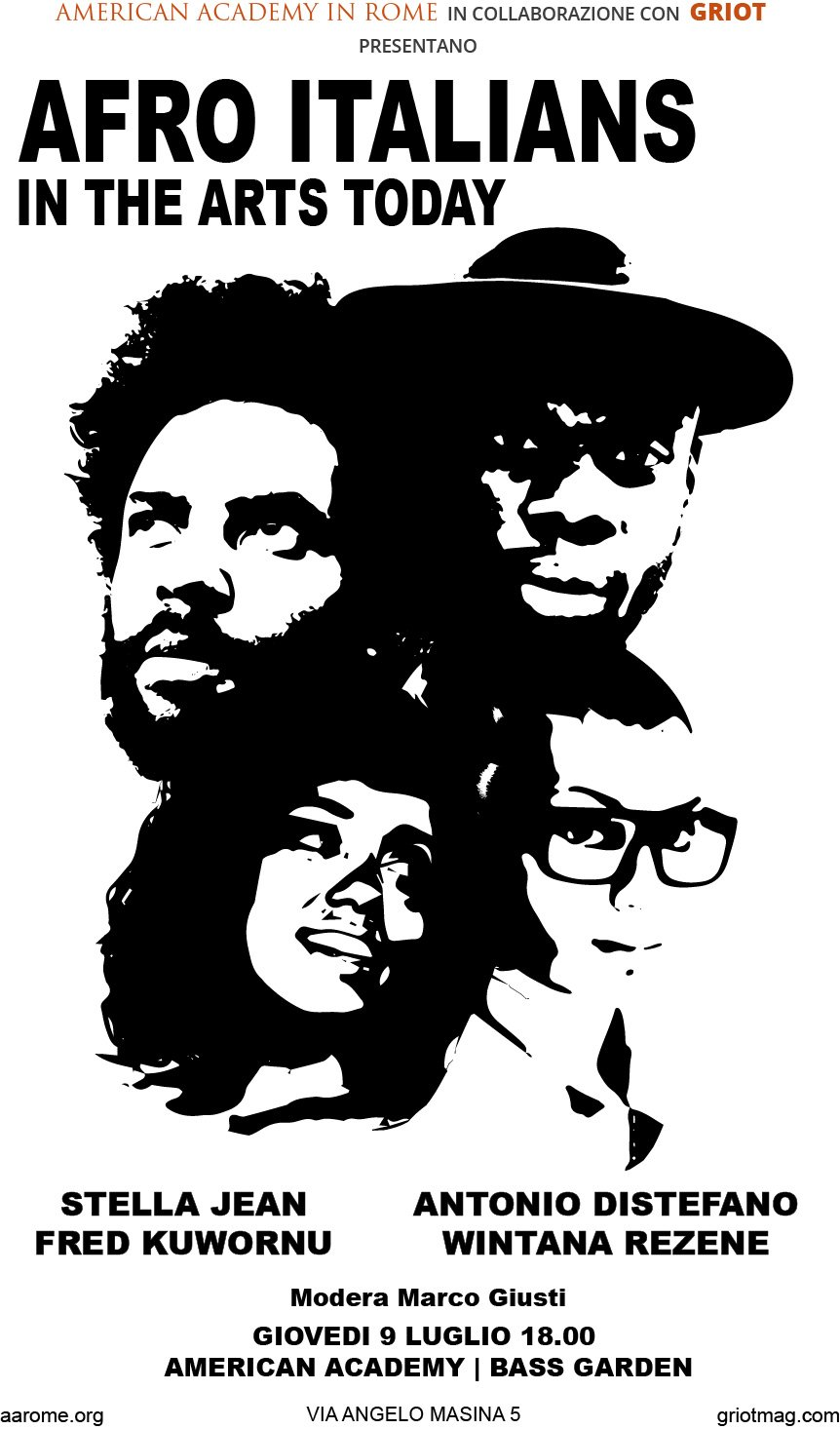 Griot Magazine -Afro Italians in the Arts Today
