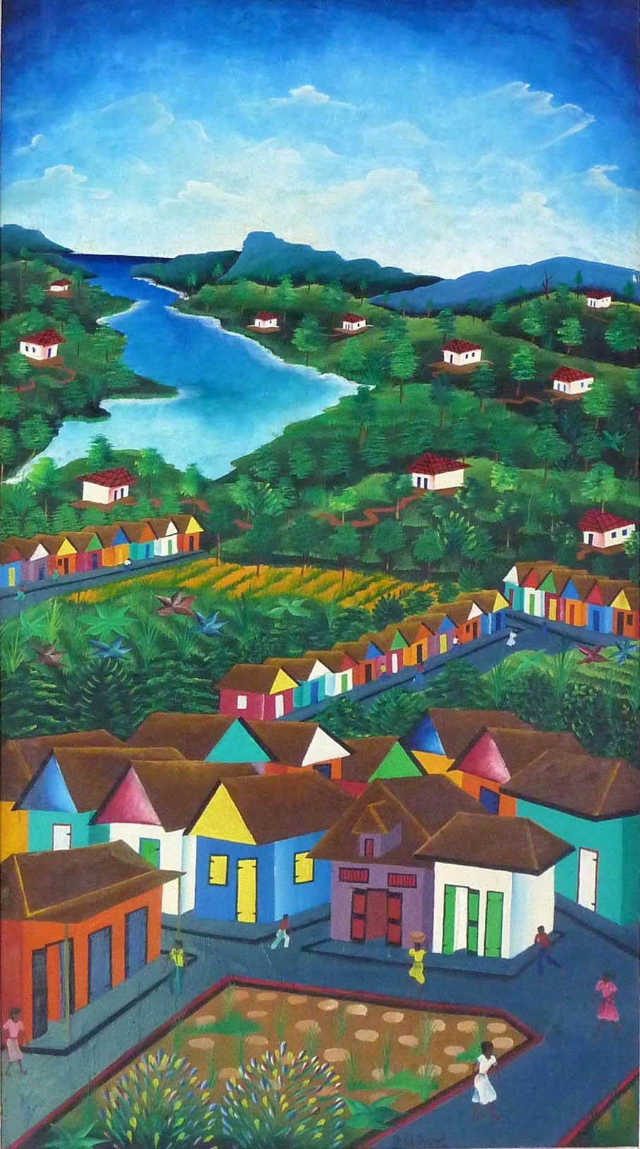 Griot Magazine-arte naif- Cherisme, Eddy-stella jean haiti