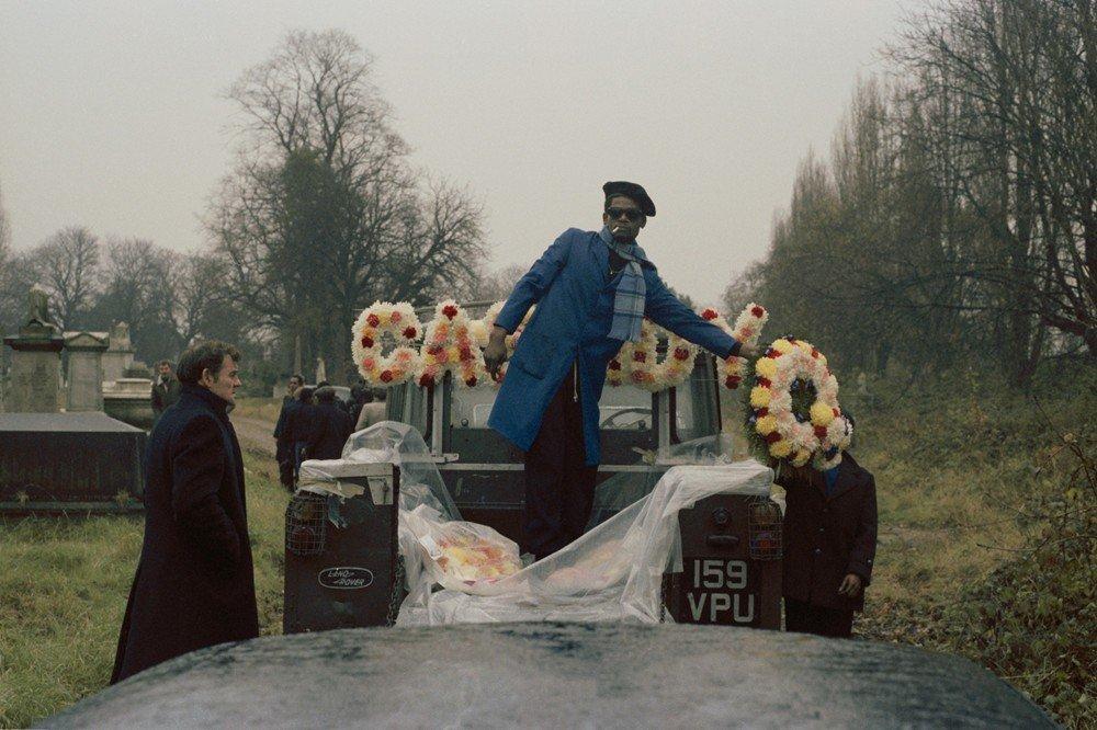 Griot magazine ©Charlie Phillips - Funerali caraibici di Londra_3