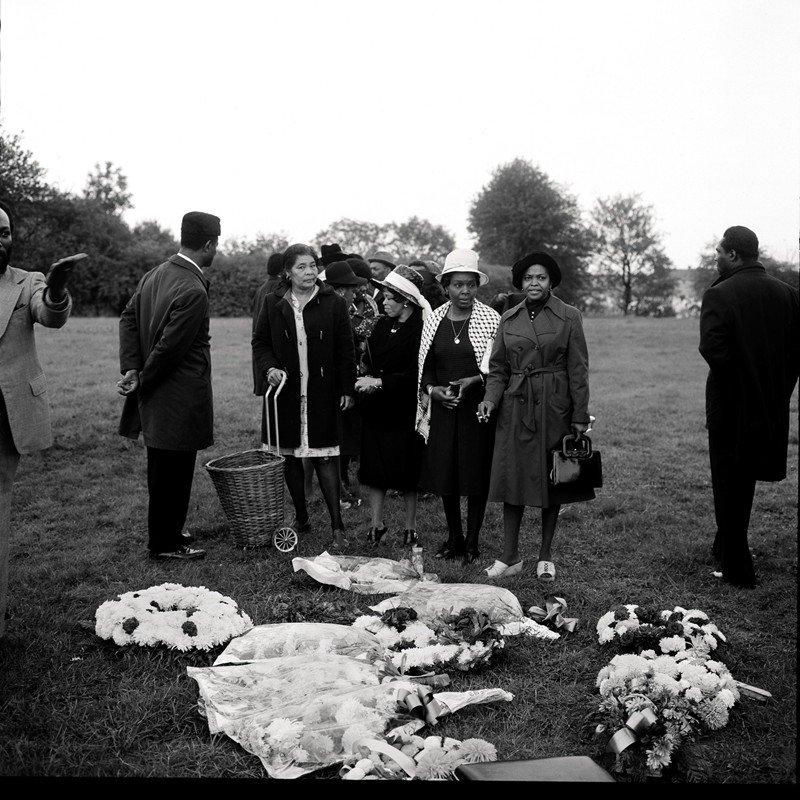 Griot magazine ©Charlie Phillips - Funerali caraibici di Londra_5