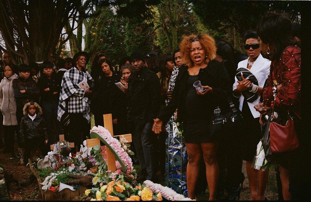 griot magazine ©charlie phillips-i funerali caraibici di londra