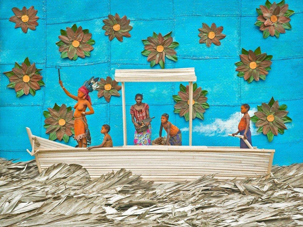 Griot Magazine Sono una Walé Portatemi rispetto ©Patricq Willoq_The Arch of Walé Oyombé