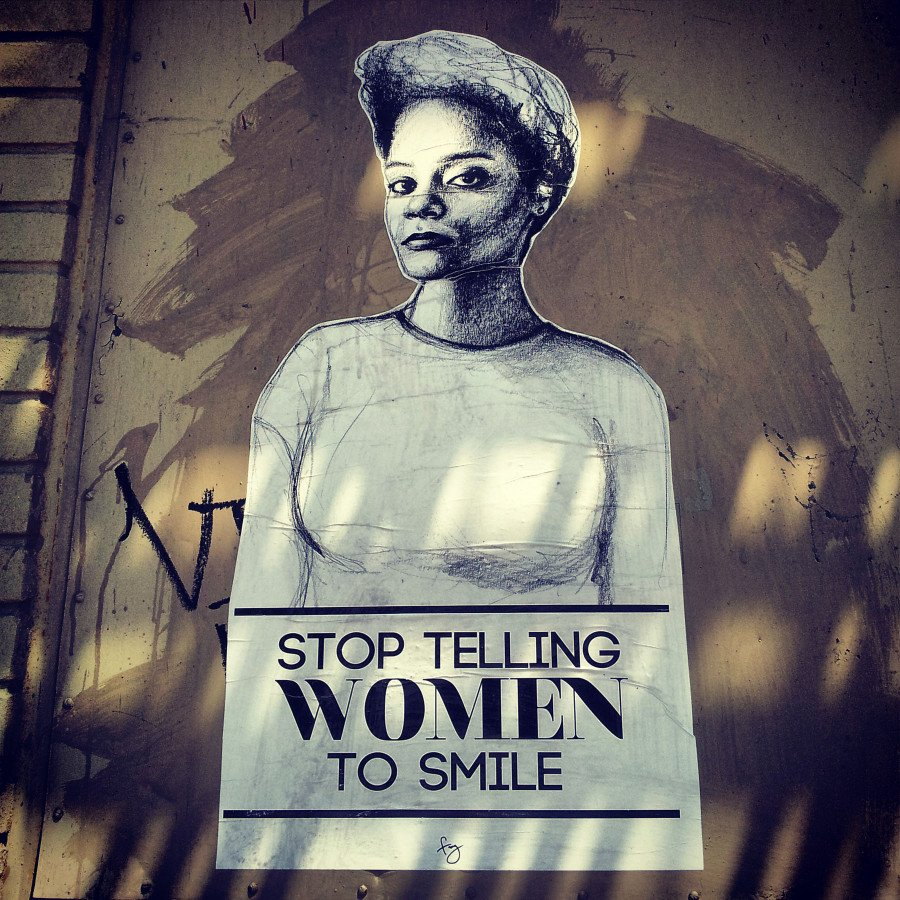 griot-magazine-stop-telling-women-to-smile-Tatyana Fazlalizadeh-