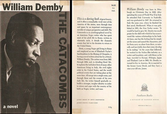 Griot-magazine-the catacombs-di William Demby