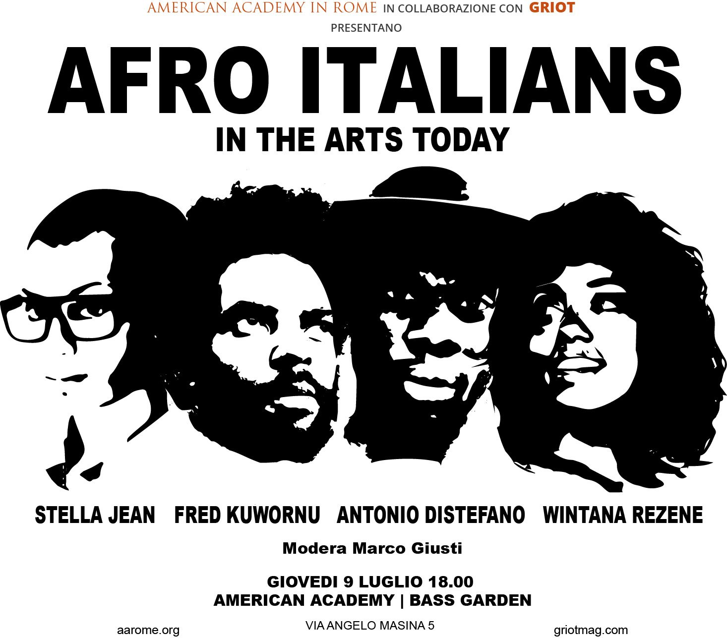 Griot Magazine_Afro Italians in the arts today