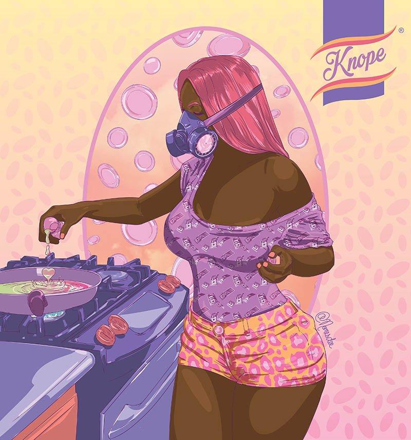 nomesdee digital-- artist zambia afrofuturismo