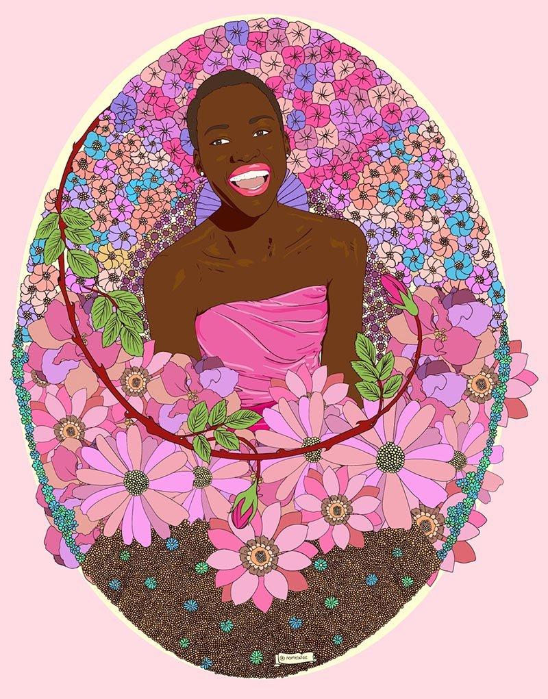 nomesdee -digital -artist_ -_zambia afrofuturismo-