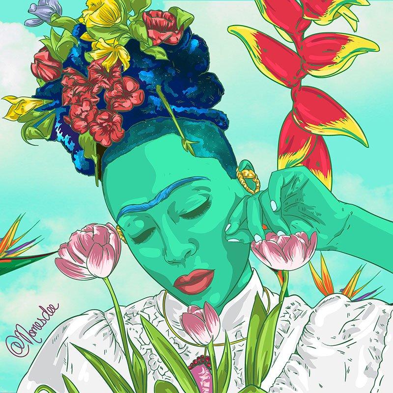 nomesdee -digital_ -artist -zambia afrofuturismo-