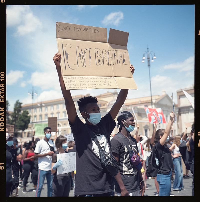11. griot mag george floyd piazza dl popolo black lives matter manifestazione ©lilia carlone