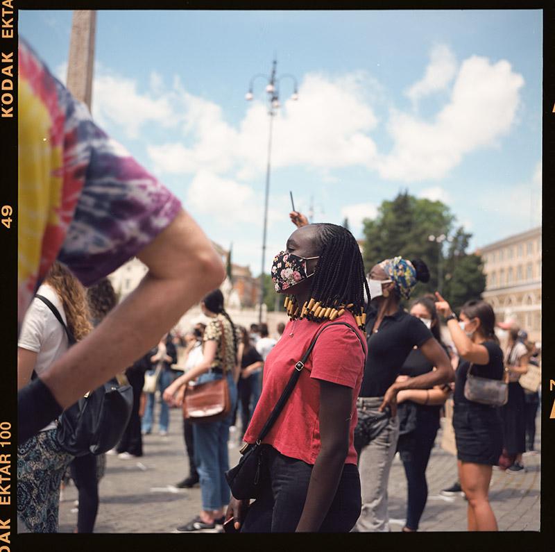 12. griot mag george floyd piazza dl popolo black lives matter manifestazione ©lilia carlone