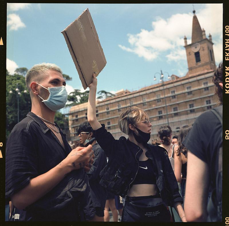 15. griot mag george floyd piazza dl popolo black lives matter manifestazione ©lilia carlone