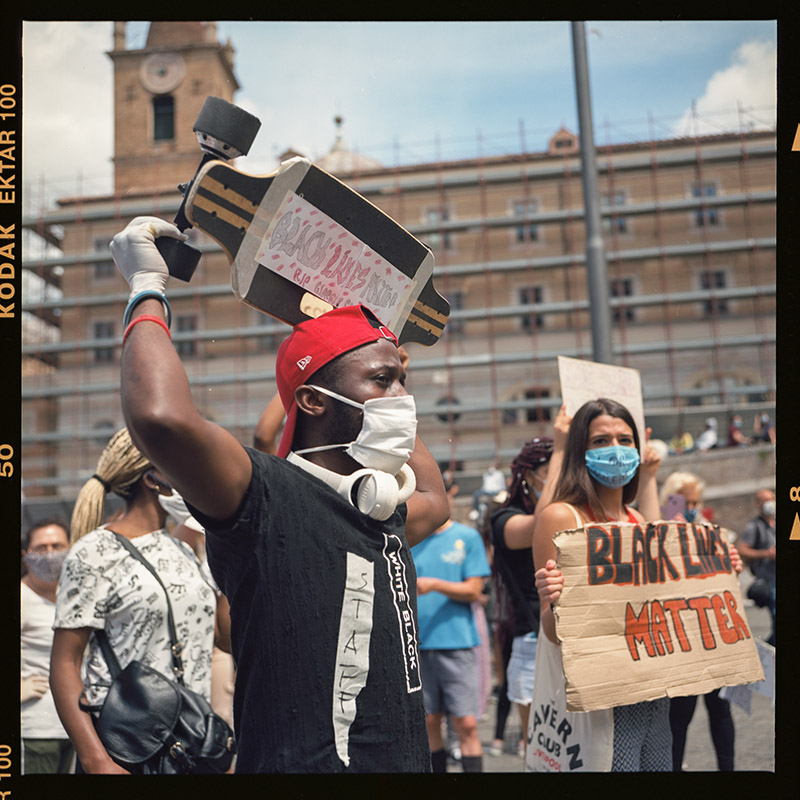 17. griot mag george floyd piazza dl popolo black lives matter manifestazione ©lilia carlone