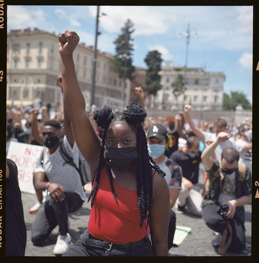20. griot mag george floyd piazza dl popolo black lives matter manifestazione ©lilia carlone