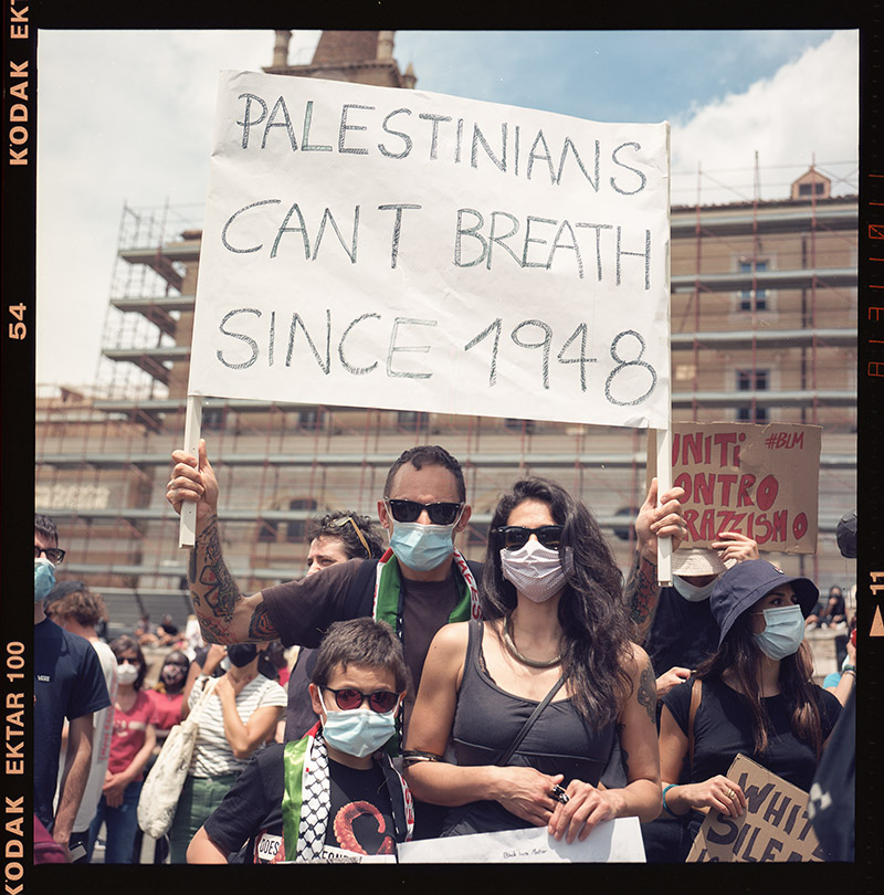 23. griot mag george floyd piazza dl popolo black lives matter manifestazione ©lilia carlone