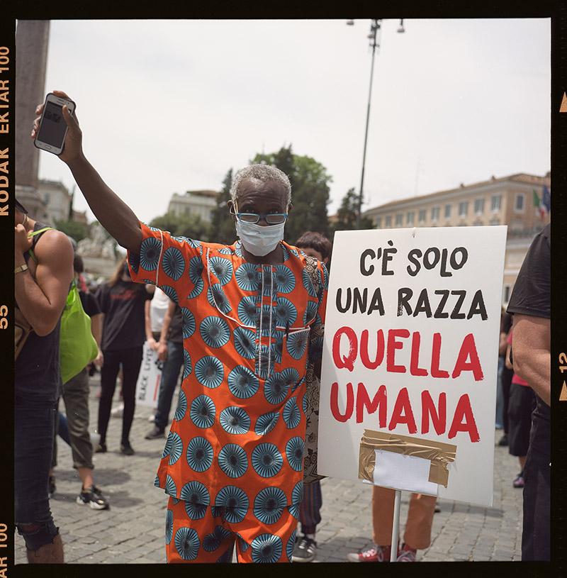 24. griot mag george floyd piazza dl popolo black lives matter manifestazione ©lilia carlone