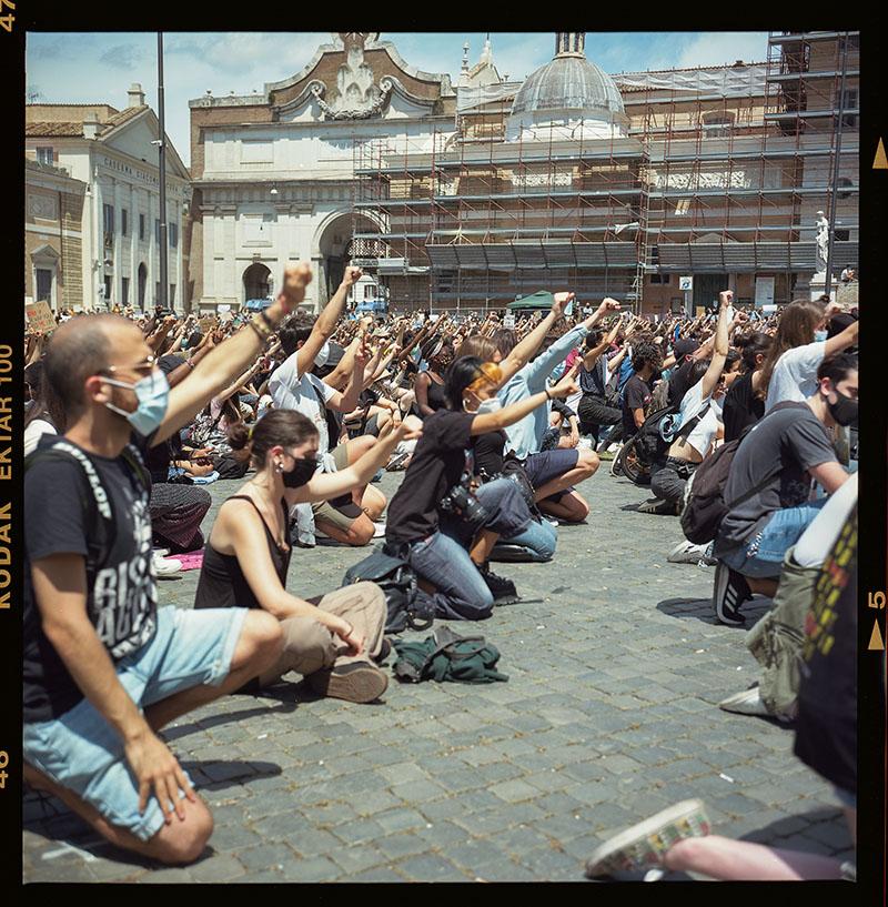 27. griot mag george floyd piazza dl popolo black lives matter manifestazione ©lilia carlone