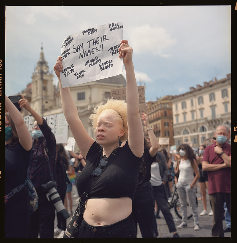 3. griot mag george floyd piazza dl popolo black lives matter manifestazione ©lilia carlone