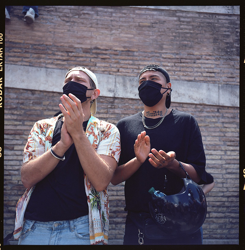 30. griot mag george floyd roma italia piazza dl popolo black lives matter manifestazione ©lilia carlone