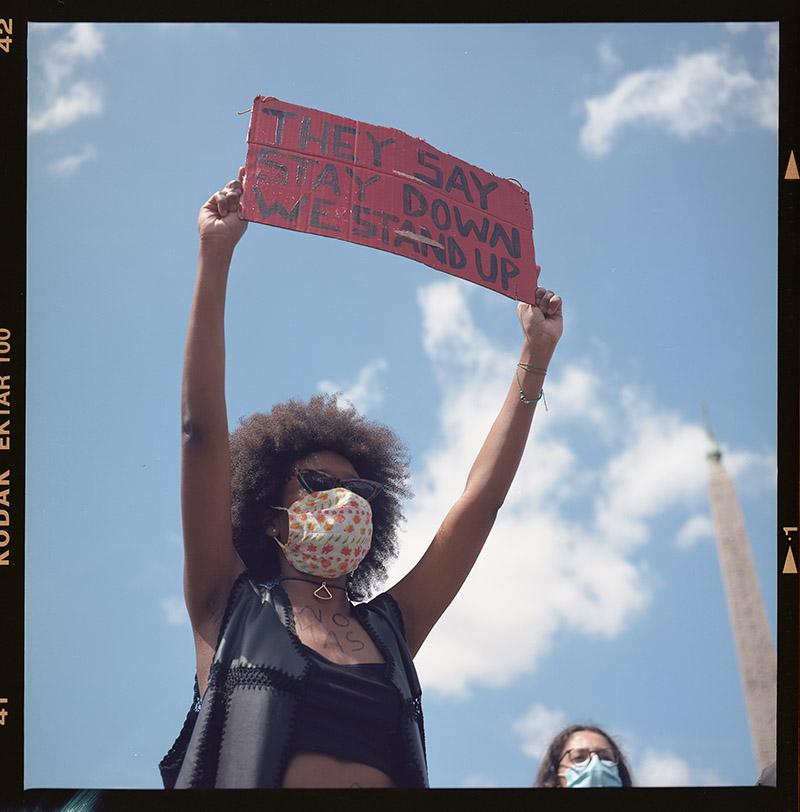 6. griot mag george floyd piazza dl popolo black lives matter manifestazione ©lilia carlone