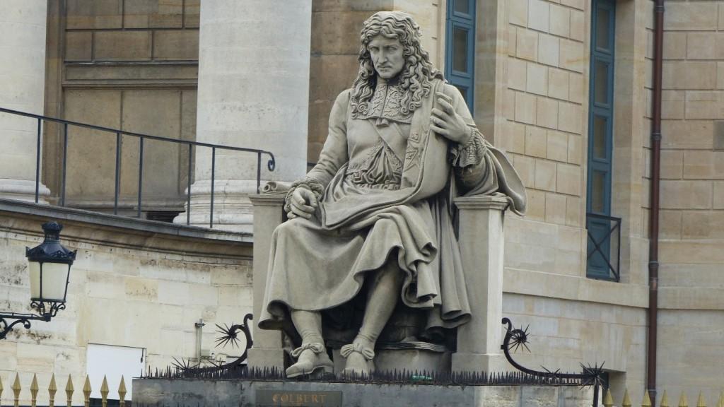 colbert statue paris