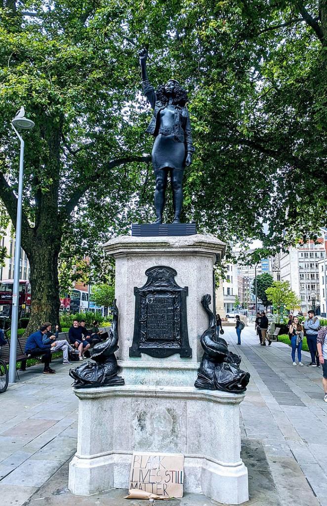 griot mag surge of power bristol colston statua Jen_Reid_15th_July_2020