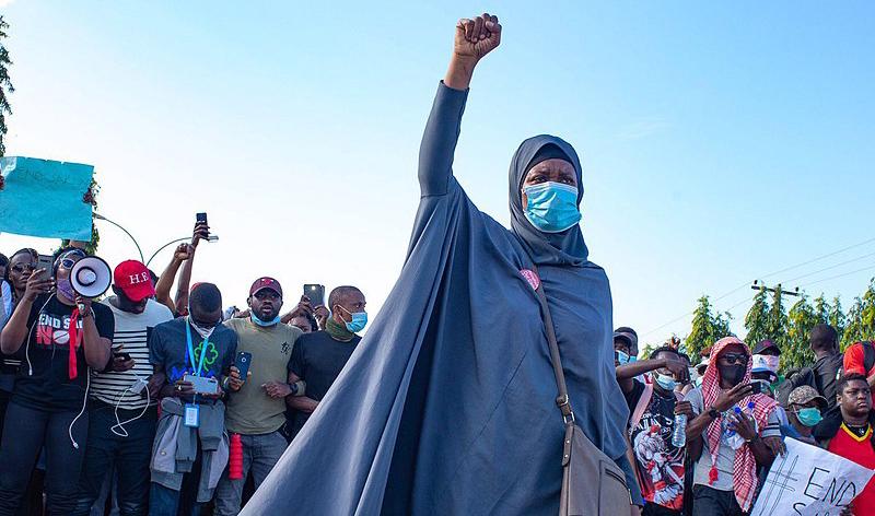 #EndSars in Nigeria   La famigerata Squadra speciale anti-rapine SARS è stata sciolta