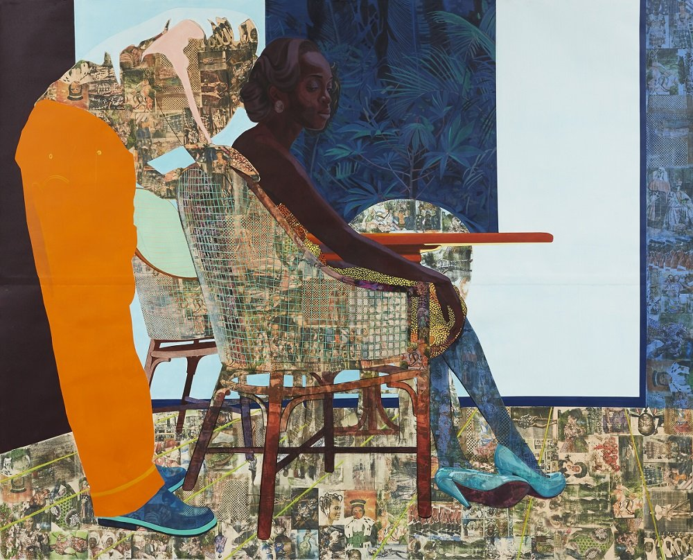 griot mag biennale venezia 58esima edizione-Njideka-Akunyili-Crosby_And-We-Begin-To-Let-Go_2013-a_low-jpg